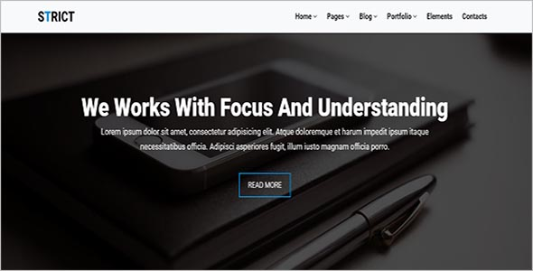 Professional HTML Bootstrap Themes