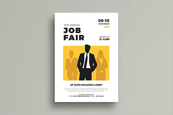 Promotion Job Fair Flyer Ideas