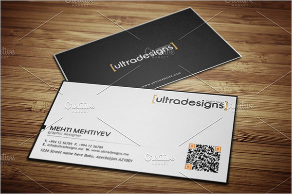 QR Code Business Card Ideas