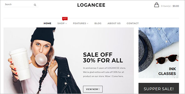 Responsive Ecommerce Shopify Template