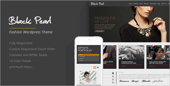 Responsive Fashion WordPress Theme