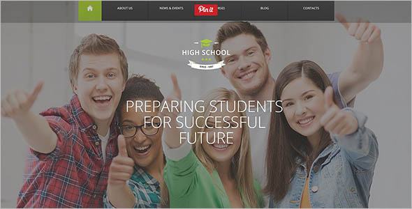 Responsive School WordPress Theme
