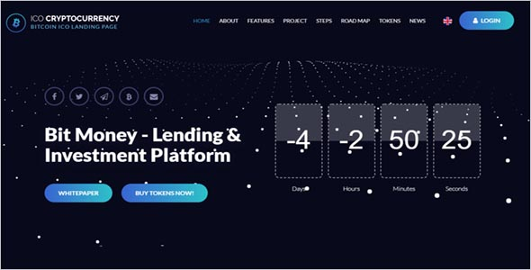 Sample Cryptocurrency Theme