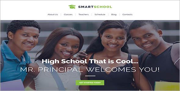 School Website WordPress Theme
