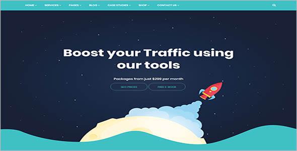 Seo Agency WordPress Theme