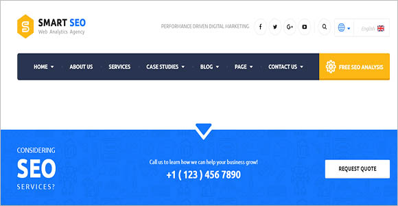 Seo Company WordPress Theme Nulled