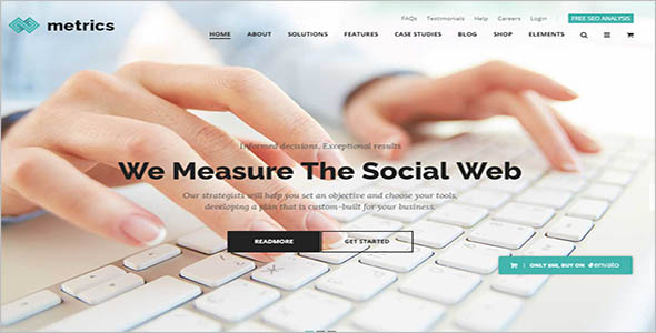 Seo Company WordPress Website