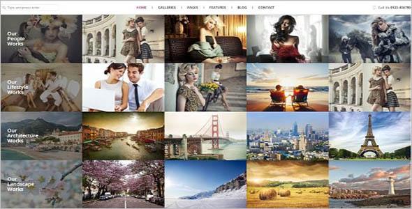 Seo Photography WordPress Theme