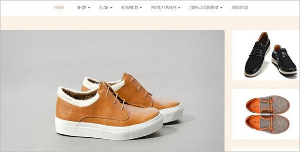 Shoe Store VirtueMart 3 Template