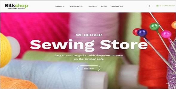 SilkShop Shopify Website Theme
