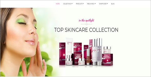 Skin Care Shopify Template