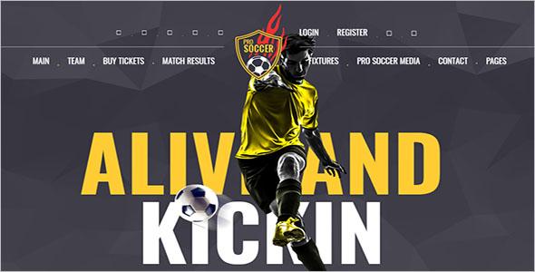 Soccer & Football Club Theme
