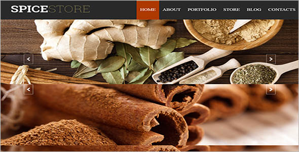 Spice Shop Resturant WooCommerce Theme