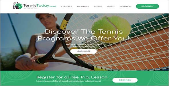 Sport School WordPress Theme
