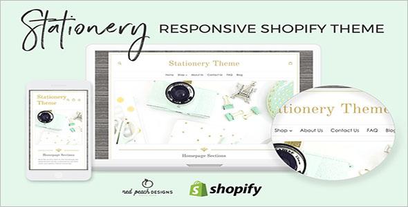 Stationery Responsive Shopify Theme