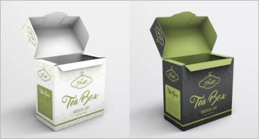 Tea Box Mockup