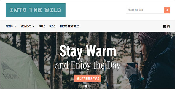 The Shopify Wild Ecommerce Theme