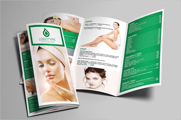 Top Beauty Brochure Design