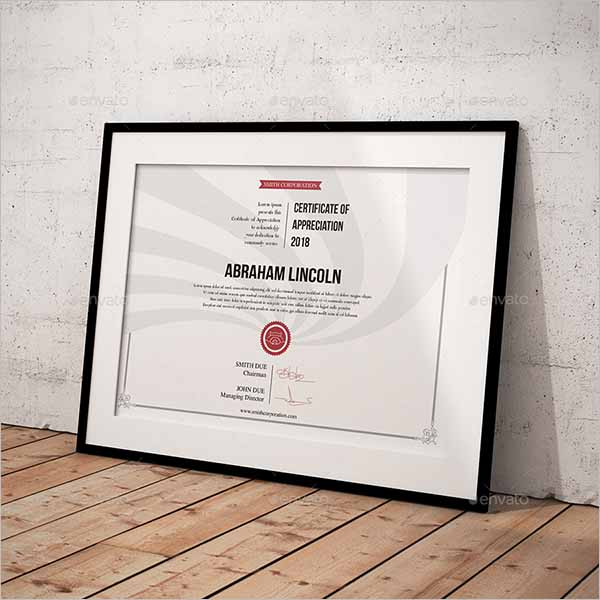 Top Selling Certificate Template