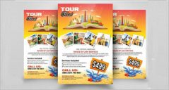 Tourism Flyer Designs