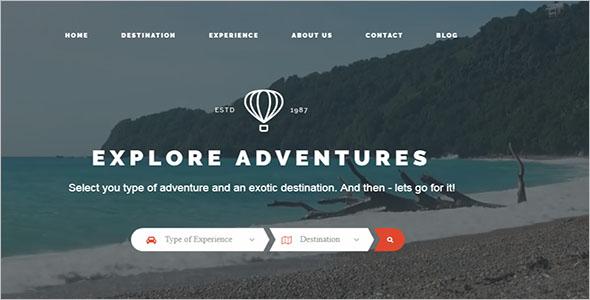 Tours Agency WordPress Theme