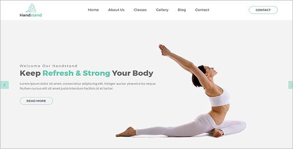 Training Html Template