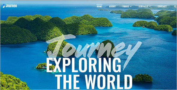 Travel Agency Elementor WordPress Theme