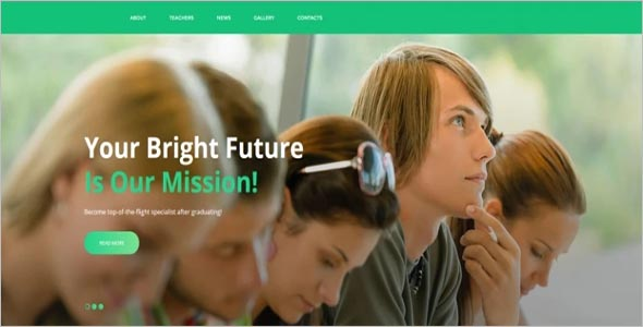 University CMS HTML Template