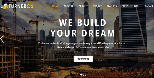 Vintage Architecture WordPress Theme
