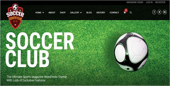 Vintage Football WordPress Themes