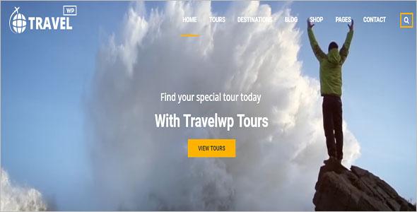 Vintage Travel WordPress Theme