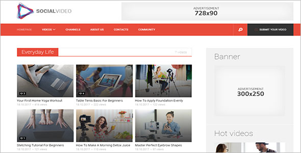Viral Video WordPress Theme