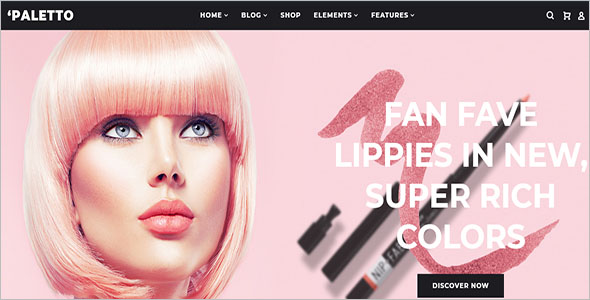 WooCommerce Cosmetic Store Elementor Theme