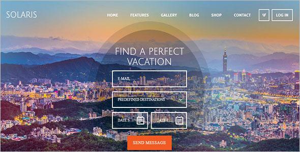 Wordpress Printable Travel Agency WordPress Theme