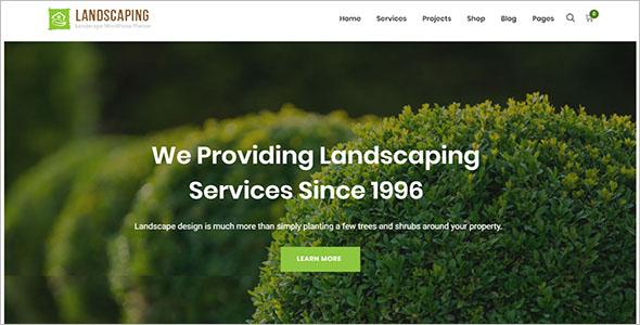 lawn Business WordPress Theme