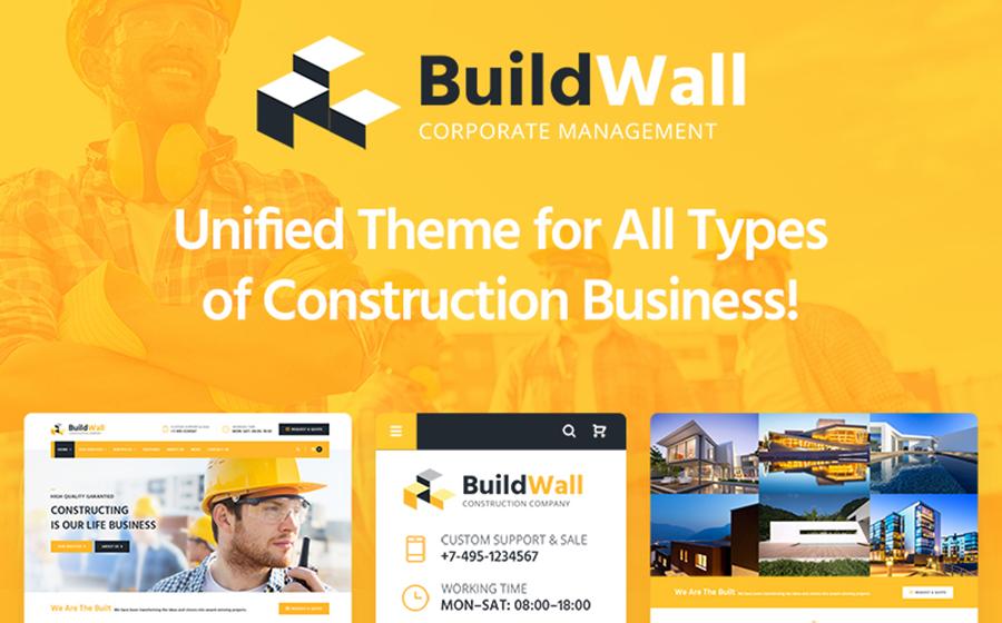 Building Company WP Theme