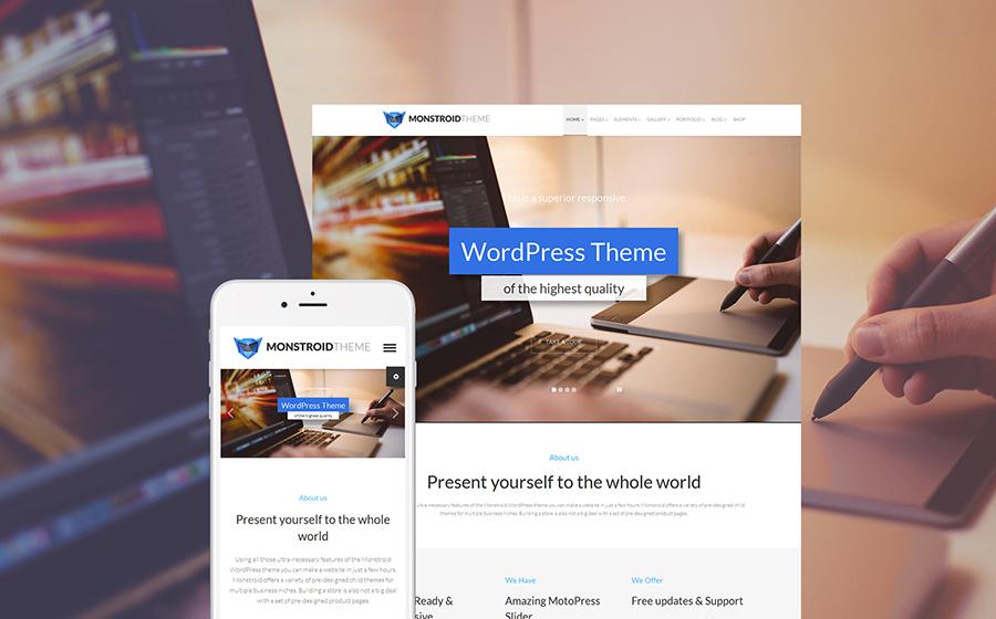 Monstroid - Best WordPress Theme
