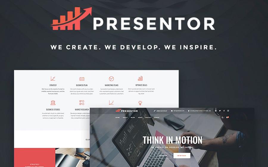 Presentor - Business Elementor WordPress Theme