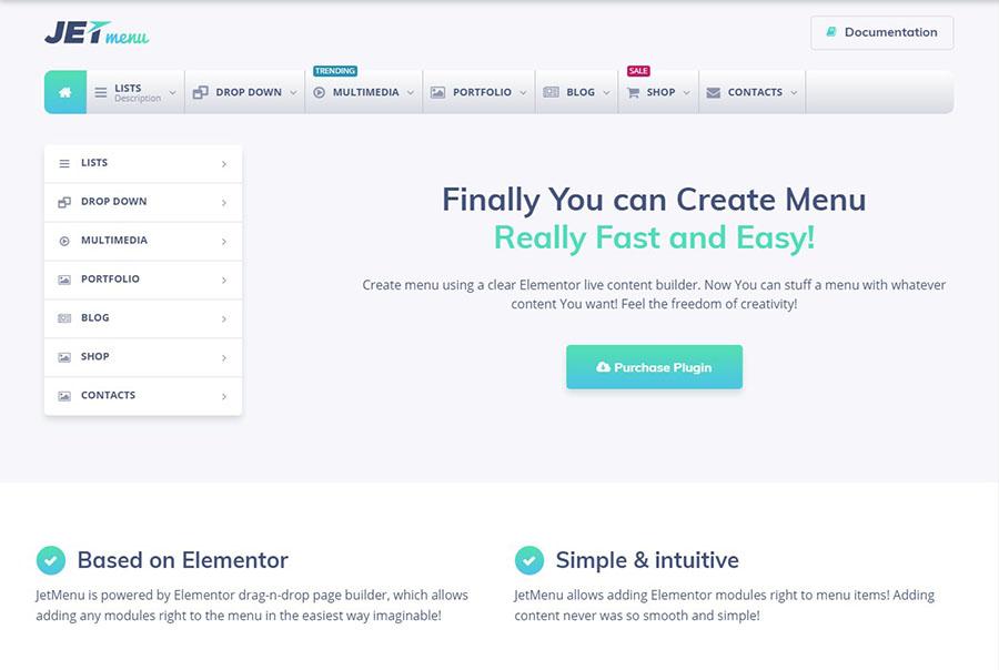 Mega Menu for Elementor Page Builder WordPress Plugin