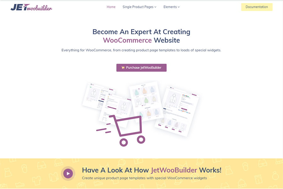 WooCommerce Page Builder Addon