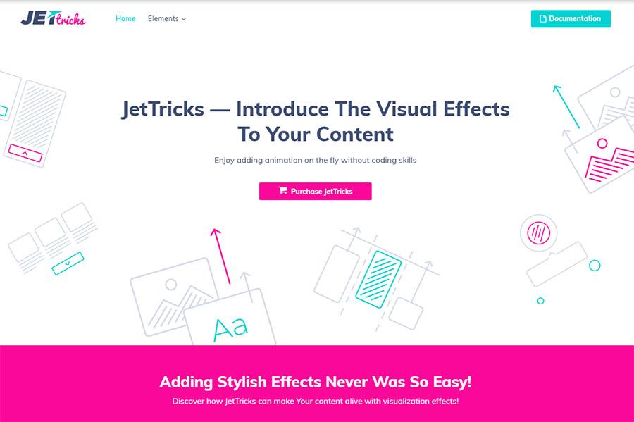 Visual Effects Addon for Elementor WordPress Plugin