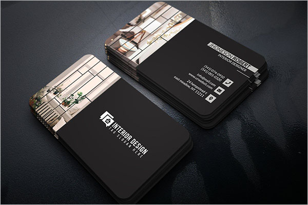 Awesome Interior Design Business Card