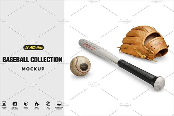 Baseball Collection Mockup