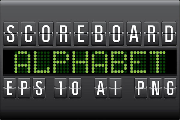 Basketball Scoreboard Template