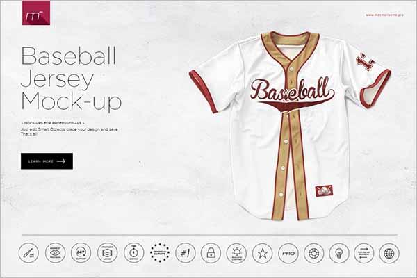 Best Baseball Jersey Mock-up