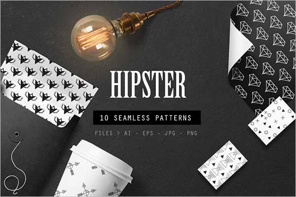 Best Hipster Seamless Patterns
