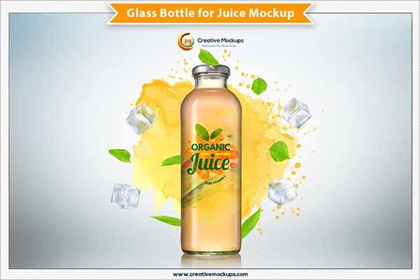Best Juice Bottle Mockup Designs