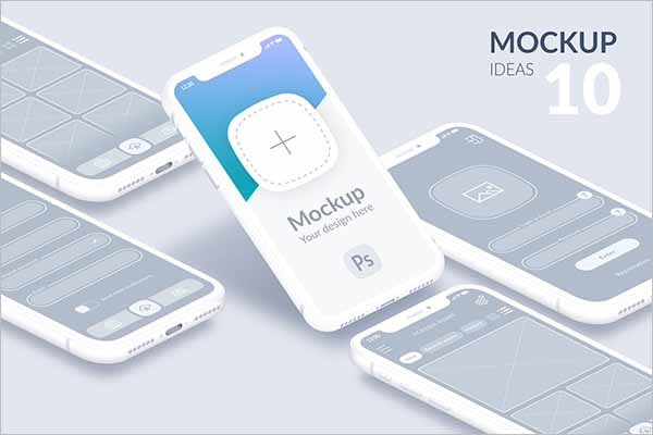 Best Mobile Mockup PSD Templates