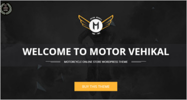 Best Motorcycle WordPress Theme