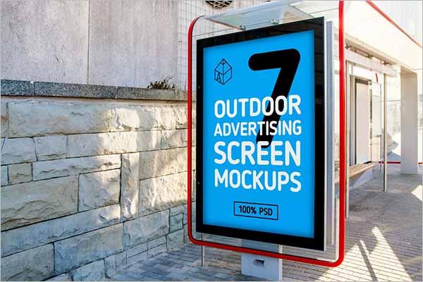 Best Outdoor Mockup PSD Designs